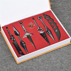 Naruto Kunai Metal Weapons 7 pieces/set
