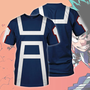 Boku no Hero Academia Cosplay T-shirt