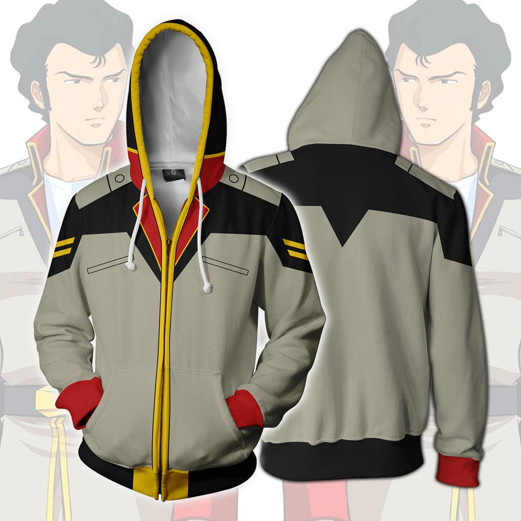 BRIGHT NOA - Gundam Zip Up Hoodie
