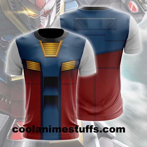 Image of Gundam Model Cosplay T-shirt Shirts
