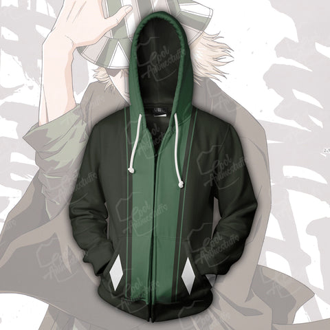 Image of Bleach Kisuke Urahara Zip Up Hoodie
