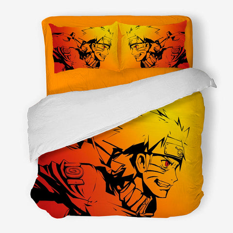 Image of Naruto Bedding Set 3-4 Pcs/Set