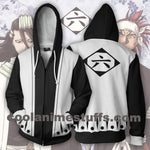 Bleach 6th Division Zip Up Hoodie