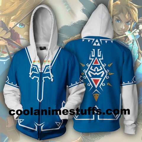 Image of The Legend of Zelda Zip Up Hoodie