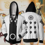 Naruto Rikudou Manga Version Zip Up Hoodie