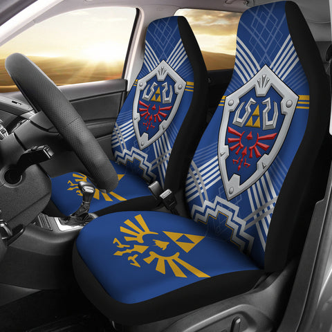 Image of The Legend Of Zelda Shield Car Seat Covers