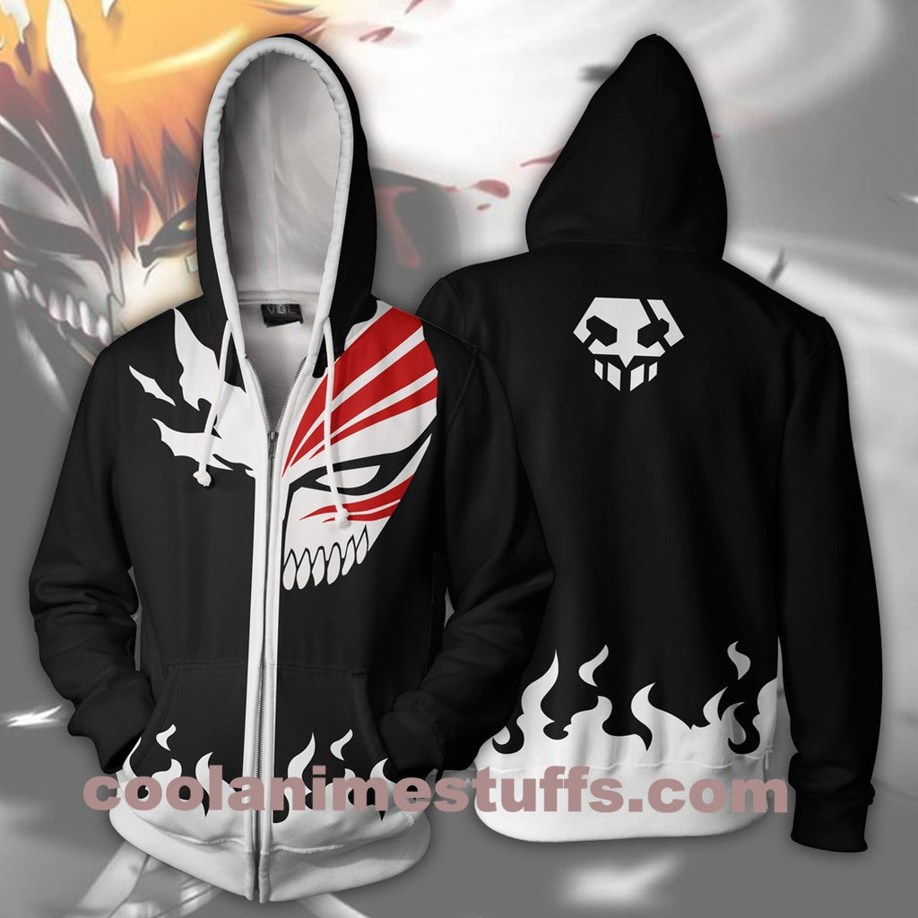 Bleach Hollow Ichigo Zip Up Hoodie