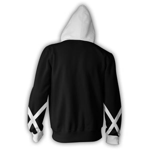 Bleach Ichigo Zip Up Hoodie