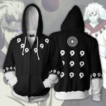 Madara 6 Paths Black Zip Up Hoodie