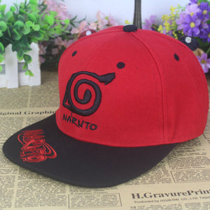 Naruto Leaf Village Logo Adjustable Snapback