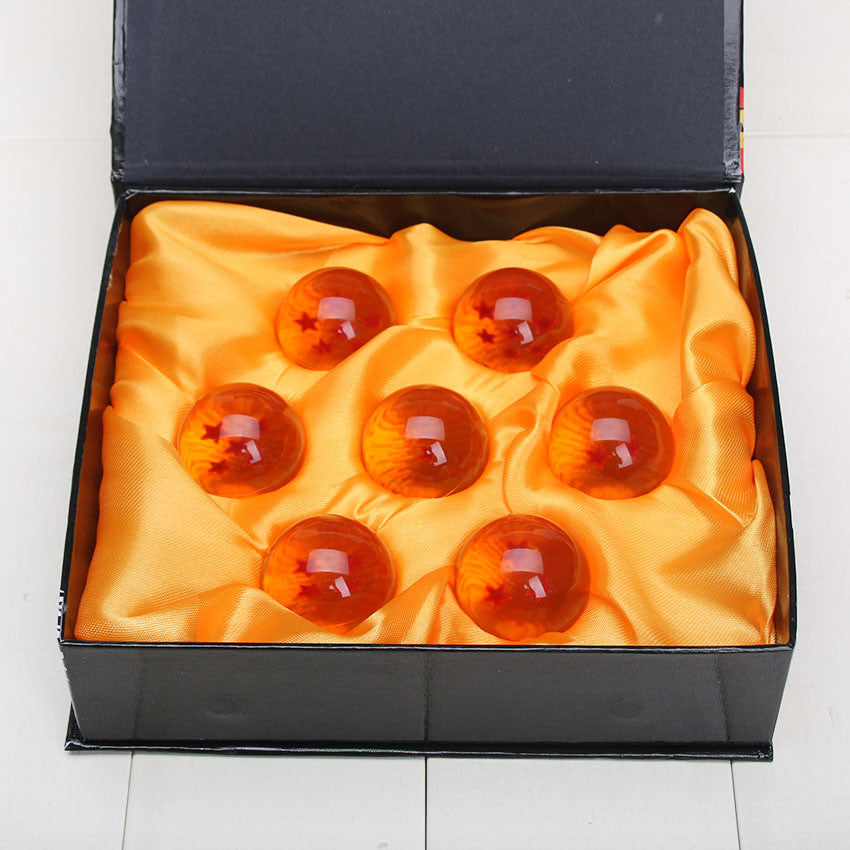 Dragon Ball Z 1 set 3.5CM DragonBall 7 Stars Crystal Ball