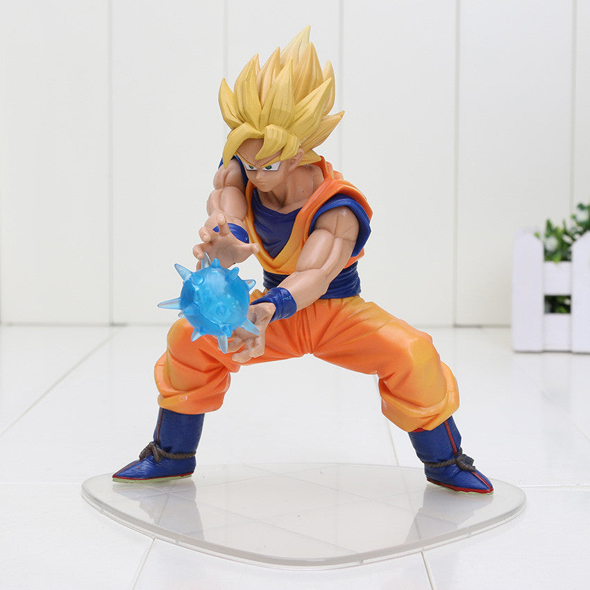 16cm Dragon Ball Z Super Saiyan Son Goku Fighting PVC Action Figure