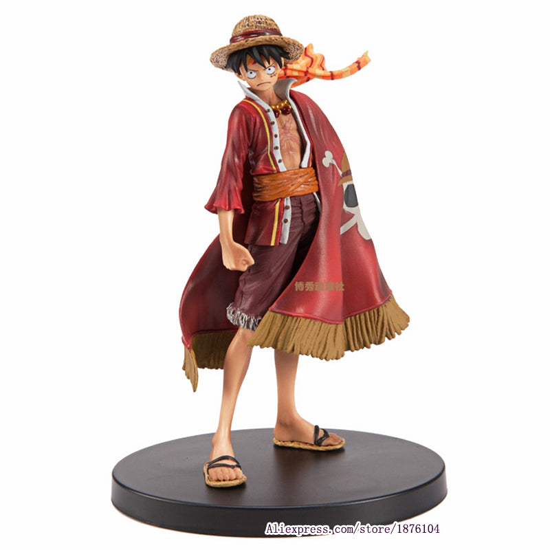 17cm Anime One Piece Luffy Action Figure Toys