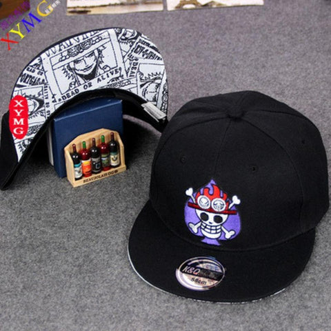One Piece 6 Styles Embroidery Adjustable Snapback