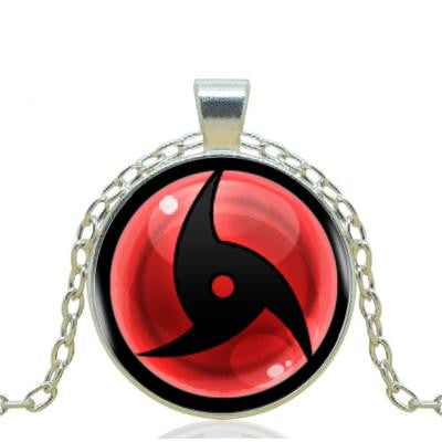 1pcs/lot  Naruto Sharingan Eyes Pendant Necklace