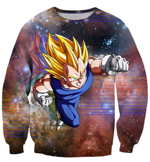 Image of Anime Dragon Ball Cute Kid Goku 3D print Unisex Long Sleeve Sweatshirt