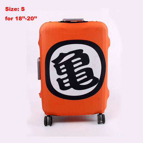 Dragon Ball Logo Luggage Suitcase Protective Cover