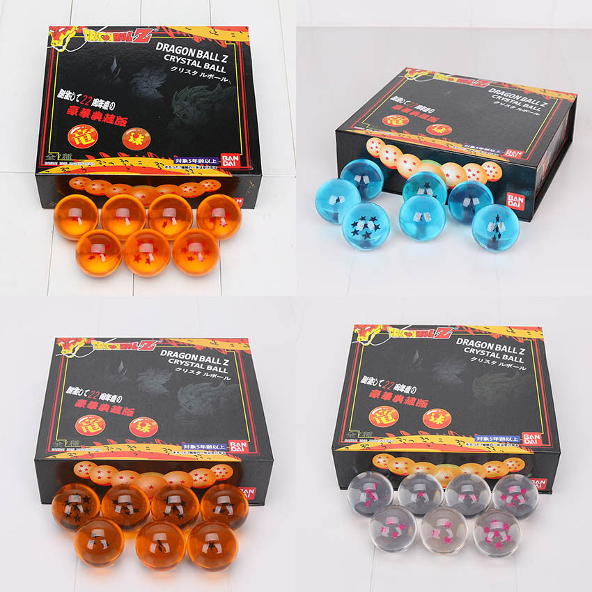 Dragon Ball 1-7 Star Crystal Balls 4 colors