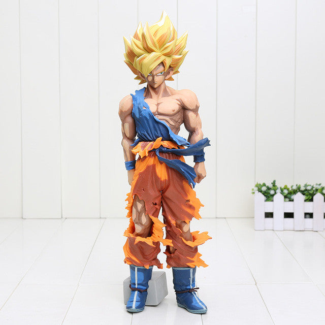 34cm Dragon Ball Z Big Size Son Goku Super Saiyan PVC Action Figure