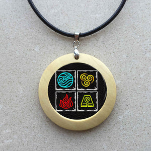 Avatar Airbender  Cabochon necklace