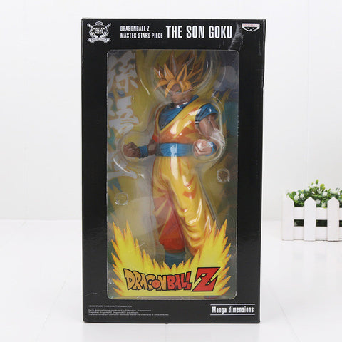 Dragon Ball Manga Style Vegeta Super Saiyan Chocolate ver. Figure