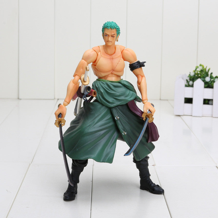 18cm One Piece Roronoa Zoro PVC Action Figure