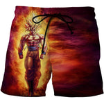 Dragon Ball 3D Print Shorts for Men
