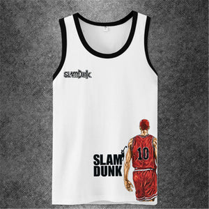 Anime One Piece 3d Printed men casual Tank Top