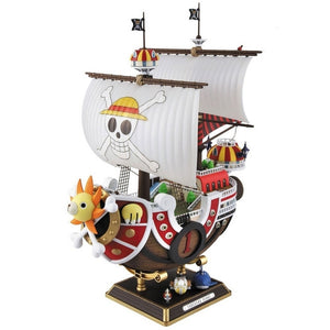 35cm Anime One Piece Thousand Sunny & Meryl Boat Pirate Ship Figure PVC Action Figure Toys