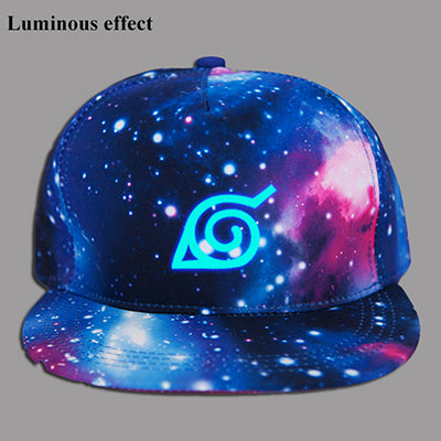 Anime Naruto Konoha Printing Cotton Sun Hat