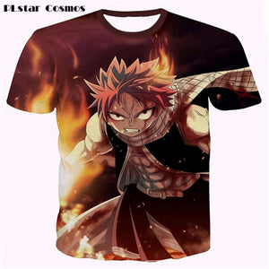 Anime Fairy Tail 3D T-shirts