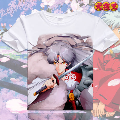 Anime Inuyasha Cotton T-shirt