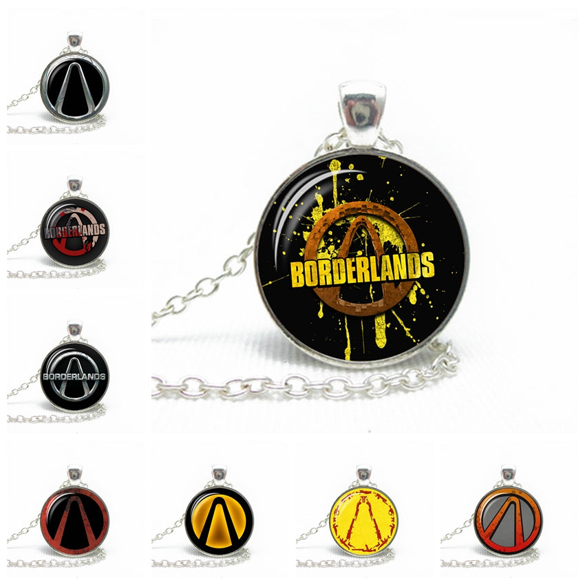 Borderlands Vault Symbol Necklace Silver Coolanimes