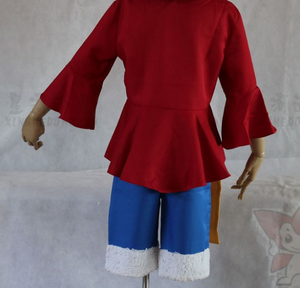 Anime One Piece costume Luffy  cosplay