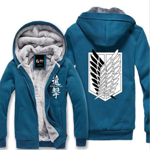 Anime Attack on Titan Print Cosplay Hoodie