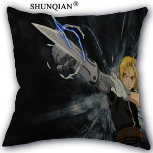 45x45cm Elric Edward  Pillow Cover Custom