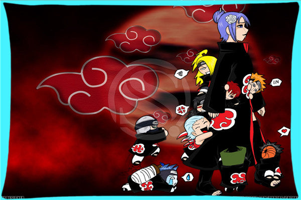 45x35 cmes  Naruto Akatsuki  Pillowcase