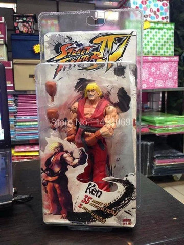 Image of 18cm Street Fighter Action Figure Toys 18cm
