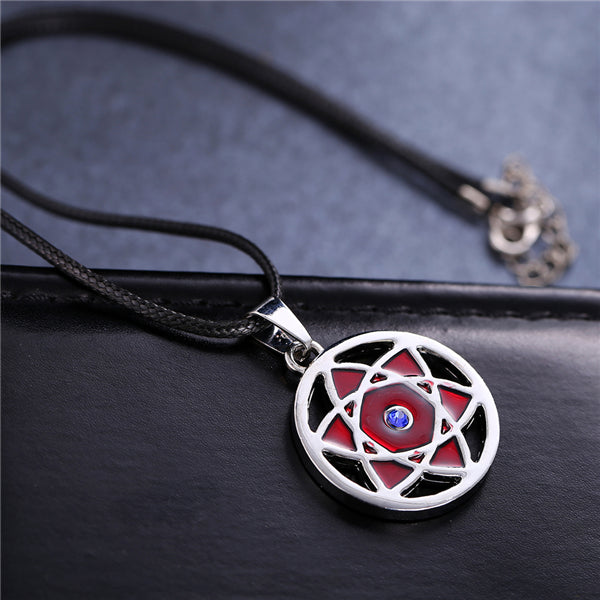 Anime Jewelry Naruto Madara Mangekyou  Necklace