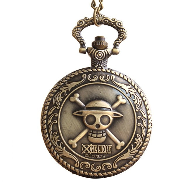 Bleach one piece  Pocket Watch Quatz