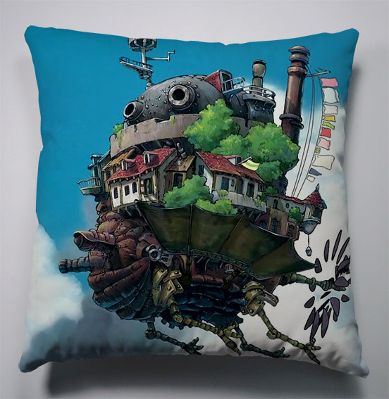 Anime Manga Howl's Moving Castle Pillow 40x40cm Pillow Case Cover