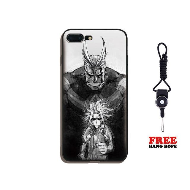All Migh Toshinori Yagi Boku no My Hero Academia Soft Silicone Phone Case Shell For Apple iPhone 5 5s SE 6 6s 7 8 Plus X 10