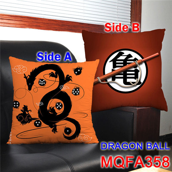 Anime Dragon SON GOKU & Son Gohan Printed pillows 45x45CM