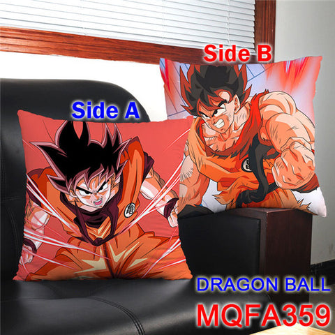 Image of Anime Dragon SON GOKU & Son Gohan Printed pillows 45x45CM
