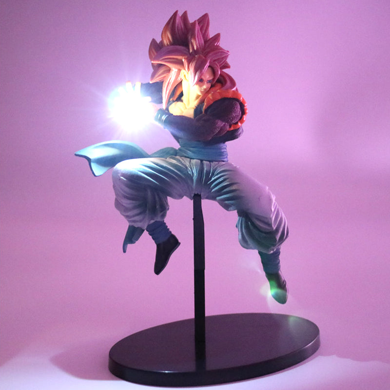 Anime Dragon Ball Gogeta Night Light Battery Figure Decoration Bedside Lamp