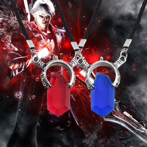 Image of Anime Game jewelry Cosplay DMC Devil May Cry 5 Necklace