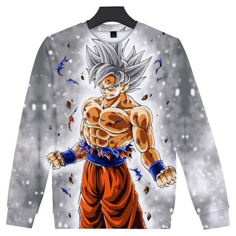 Image of Anime Dragon Ball Z goku 3D Sweatshirt