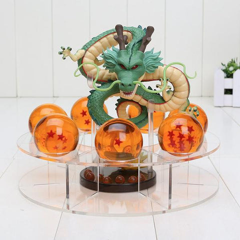 Image of Dragon Ball Z Dragon Shenron 7 Crystal Balls Figure