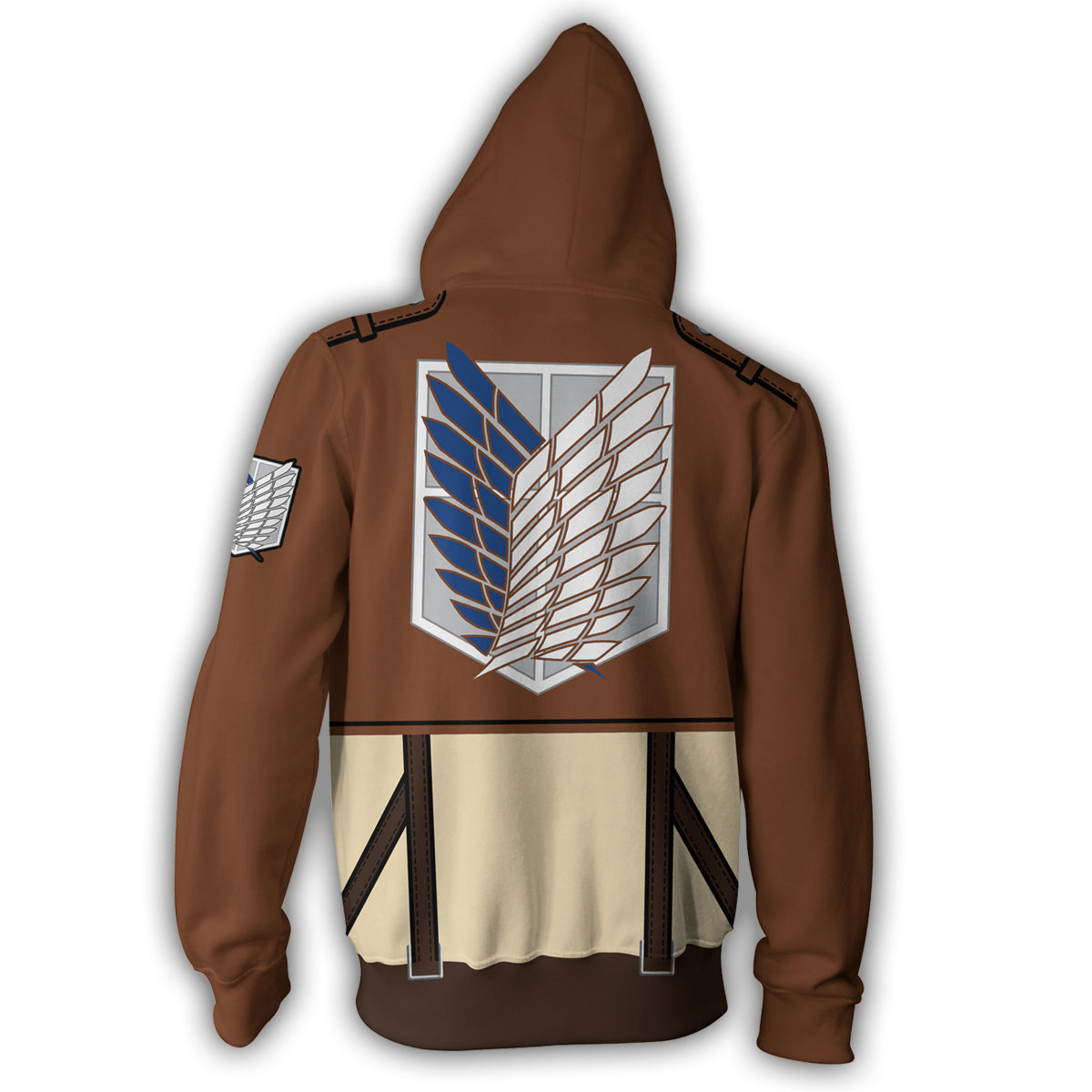 Attack on Titan Eren Yeager Zip Up Hoodie