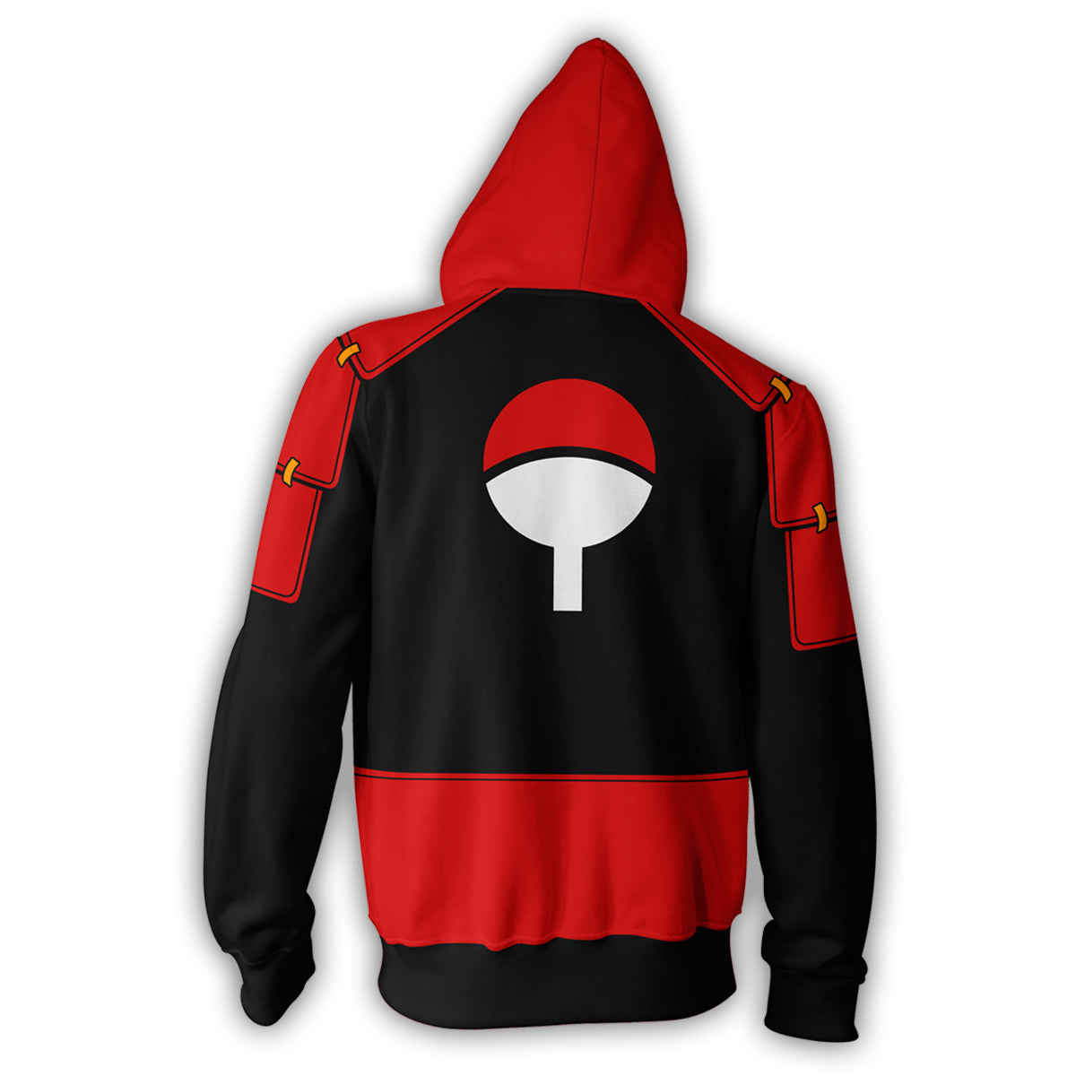 Uchiha Sweater: Madara Uchiha Zip Up Hoodie